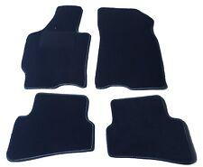Passform-Velours-Fußmatten für Mazda Xedos 6  Autoteppiche in schwarz