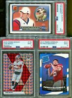 Absolute Mystery Pack Patch Auto Football Cards Tom Brady Patrick Mahomes RC PSA