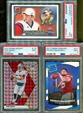 Absolute Mystery Pack Patch Auto Football Cards Tom Brady Patrick Mahomes RC PSA