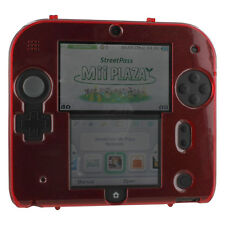 Hard case for 2DS Nintendo protective shell cover skin ZedLabz – Black red