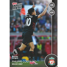 Philippe Coutinho 2016-2017 Topps Now PL #83 - /48* - Liverpool FC - SSP