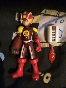 Mega Man Nt Warrior Figure Heatguts Style Megaman Mattel Very Rare