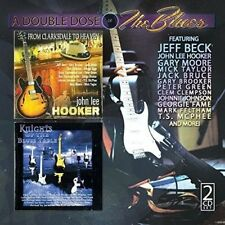 DOUBLE DOSE OF BLUES - JEFF BECK, GARY BROOKER DELUXE 2 CD NEW+