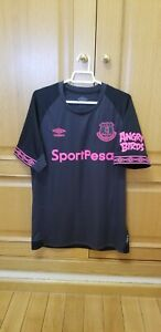 Camiseta Everton Inglaterra Shirt England club Trikot size M Umbro Maglia Jersey
