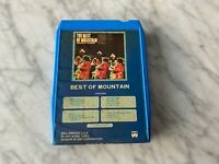 Mountain Best Of 8-Track Tape 1973 Windfall M 8119-32079 Leslie West RARE! OOP!