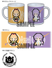 Hyperdimension Neptunia Victory Re;Birth 3 Mug official ebten Plutia Peashy New