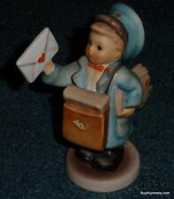 """Postman"" Goebel Hummel Mailman Figurine #119 TMK7 From 1995 MINT COLLECTIBLE!"
