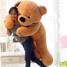 New Huge Big Brown Teddy Bear Stuffed Plush Soft Toys Doll Valentine Gift 63''