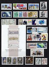 Federal/BRD colección-post frescos, completo - 1980 - 1989