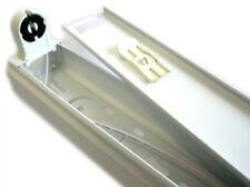 Portalampada Plafoniera Singolo Tubo Neon T8 A Led Da 60cm Interno IP20