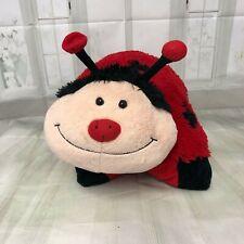 "Ladybug Pillow Pets stuffed animal large 18"" plush Lady Bug"