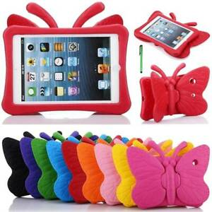 Butterfly Kids Shockproof Case Cover For iPad 9.7 5 6 7th Gen 2019 Air Pro Mini