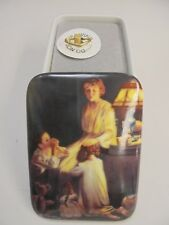 "Norman Rockwell Music Box "" Evening Prayers ""  #417A"