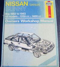 Nissan Sunny Haynes Manual 1982-1983