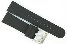 TW Steel Marc Coblen Edition Uhrenarmband 22mm Silikon Schwarz
