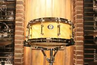 Ludwig Aged Exotic Limited 110th Avodire 5.5x14 Snare Drum - New!