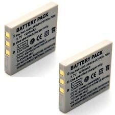2x 3.7v Li-ion Battery Pack for Kodak EasyShare C763 KLIC-7005 Brand New