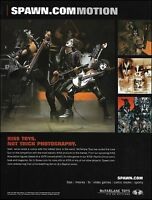 Kiss Gene Simmons Paul Stanley McFarlane Toys Spawn ad 8 x 11 advertisement