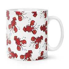 Funny Animal Crazy Lobster Lady Stars 10oz Mug Cup