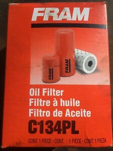 Fram C134PL Engine Oil Filter Direct Replacement Free Shipping