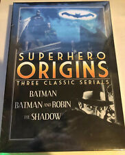 Superhero Origins: Three Complete Serials - Batman/Batman and Robin/The Shadow