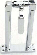 GG Train Horn Air Valve Floor Mount Stand Chrome & Brass 7