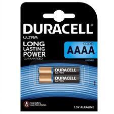 Pack 2 Pilas Original DURACELL AAAA Specialty de 1,5V Alcalina Blister b91