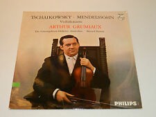 LP Tchaikovsky Mendelssohn arthur Grumiaux AMSTERDAM Violin PHILIPS A-02051-L