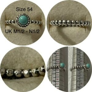 PANDORA MAY BIRTHSTONE RING SIZE 54 UK M12 - L 12 190854CH DISCONTINUED
