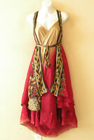 "L929 Vintage Silk Magic 34"" Long Wrap Skirt Halter Tube Maxi Dress + Bonus DVD"