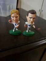 Dallas Cowboys Miniature Big Head football Figures  #8 Troy Aikman #48 johnston