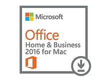 Office 2016 Home & Business per MAC - download in giornata!