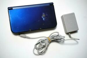 Nintendo New 3DS LL XL console metallic blue Japan system US seller