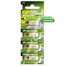 4x GP A23 12V Alkanline Batteries MN21 23A LRV08 K23A E23 Door Bell Chime Ligher