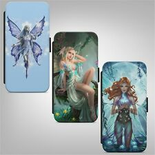 Fairy Fantasy Fairytale WALLET FLIP PHONE CASE COVER FOR IPHONE SAMSUNG HUAWEI
