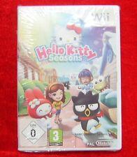 Hello Kitty Seasons, Nintendo Wii Spiel, Neu, deutsche Version