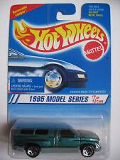 HOT WHEELS #348 DODGE RAM 1500 1995 MODEL SERIES DKGRN