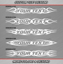 Fits TOYOTA CAMRY Custom Windshield Tribal Flame Banner Graphic Decal Sticker