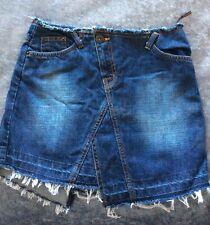 Oasis jeans ladies size 8 denim Mini skirt new