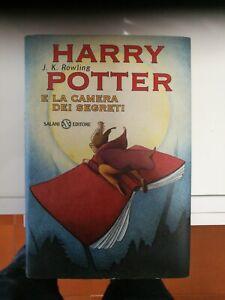 Harry Potter e la Camera dei Segreti Prima Edizione-Prima Stampa-Settembre 1999