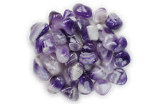 """2 lbs Wholesale Tumbled Banded Amethyst - 1"""" Large- Crystal Healing, Reiki, Wicc"""