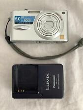 PANASONIC LUMIX DMC-FX8 DIGITAL CAMERA IN FULL WORKING ORDER with charger