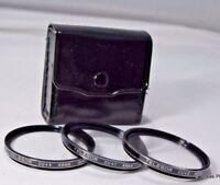 Telesor 49mm kit +1, +2, +4 Filter macro close-up lens set