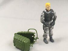 NO RESERVE Vintage 1990 GI Joe Airborne Figure v2 Sky Patrol Parachute Assembler