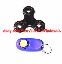 Spinner & Click Button, Fidget Toys, Spring
