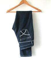 Womens Riders By Lee sz 6 Dark Blue Cotton Jean