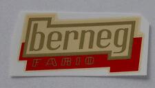 berneg Letras Adhesivo Etiqueta 78 x 39mm, 04820b, Oro / Rojo