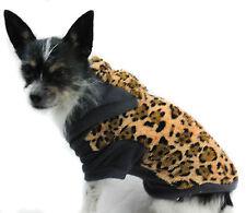 Hundejacke XS S M L XL Hund Jacke warm Hundemantel braun grau Leo