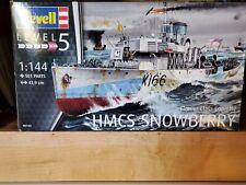 Revell model kit ship Snowberry.