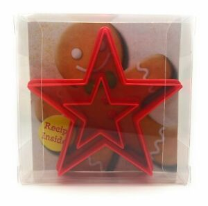 Star Cookie Cutter set of 2, Biscuit, Pastry, Fondant Cutter